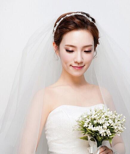 最新的韩式发型 新娘韩式发型图集