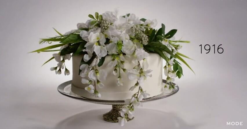 这么美的婚礼蛋糕,一开始竟然走的是性冷淡风?!