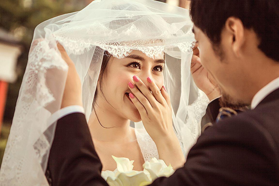 酒泉拍婚纱照前的准备:发型设计图片