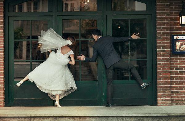 婚纱照有哪些风格?带你瞧瞧90后婚纱照风格