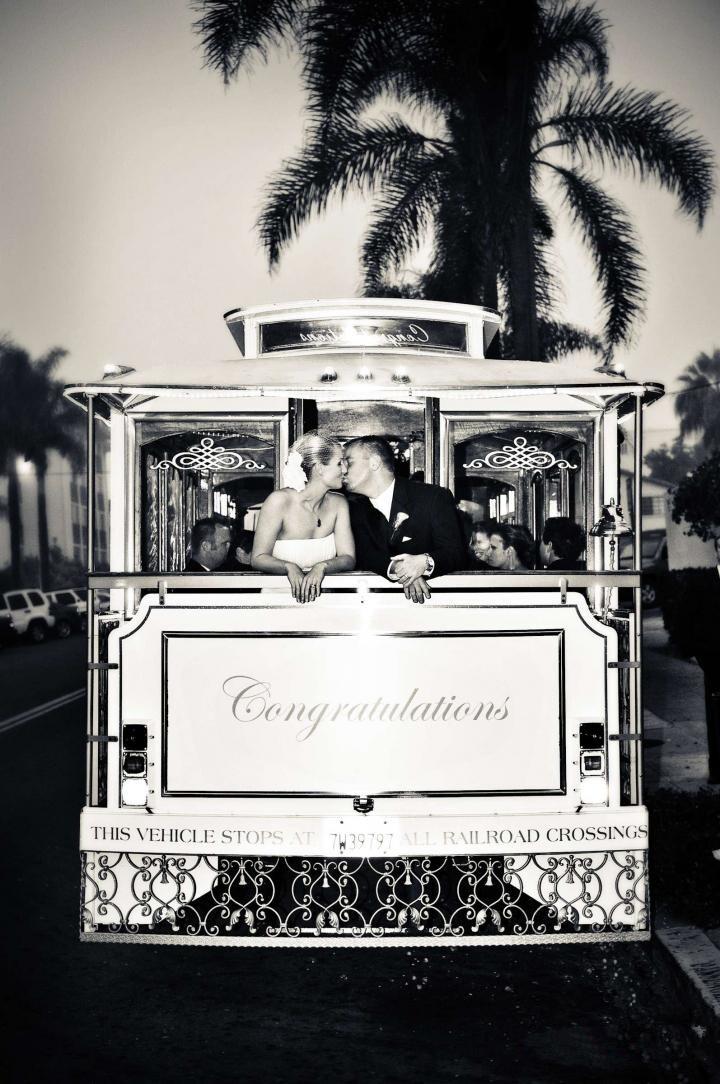 个性的西式婚礼花车 创意婚车 婚礼猫
