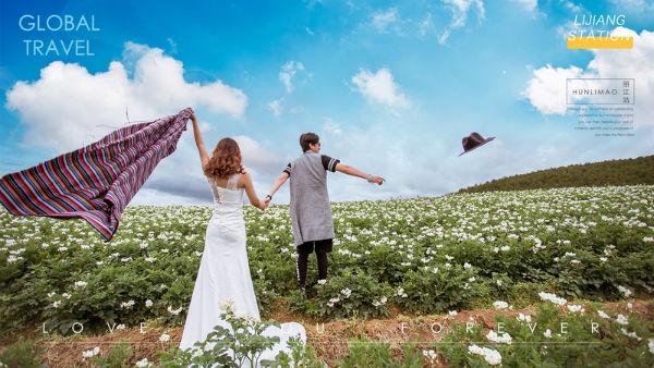 旅拍婚纱照哪家好?婚礼猫全球旅拍你值得拥有!