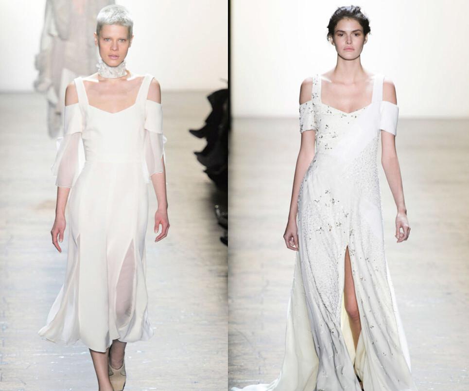 2016婚纱时装周 你的婚纱不仅美还得时尚
