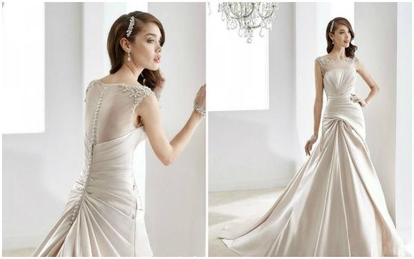 婚礼猫带你瞧瞧充满自然之美的婚纱礼服
