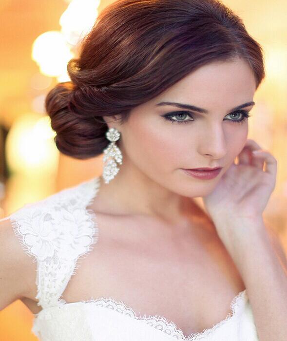 怎样打造唯美风格新娘妆容