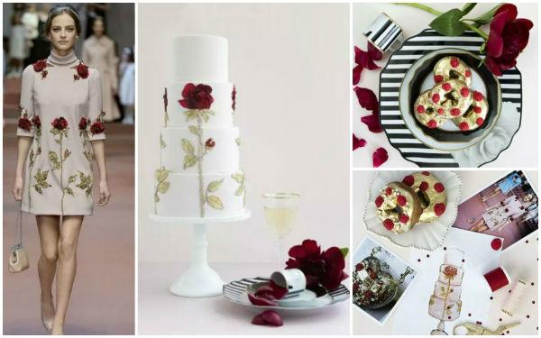 美得不像话的婚礼蛋糕原来是这么来的