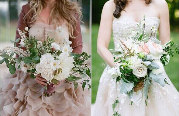 新娘手捧花的来源 手捧花的造型
