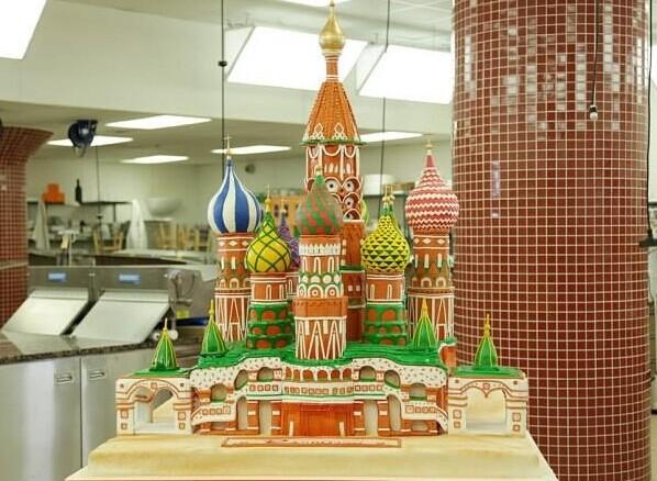 创意婚礼蛋糕 城堡蛋糕