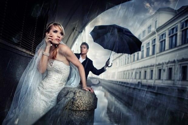 DIY教程!情侣旅行中如何自拍婚纱大片?