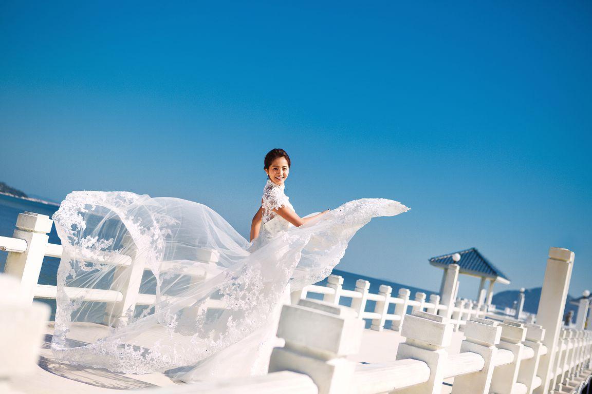 韩式婚纱照新娘发型 让婚礼造型更加清新脱俗