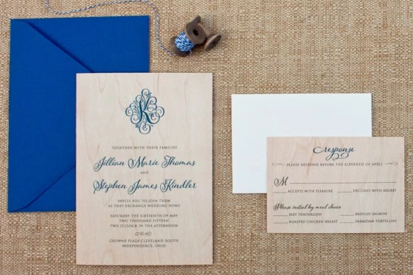 木质版婚礼请柬,给你的宾客一个全新的体验!