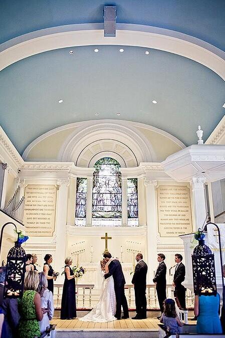 教堂婚礼策划的注意事项 完美婚礼展现