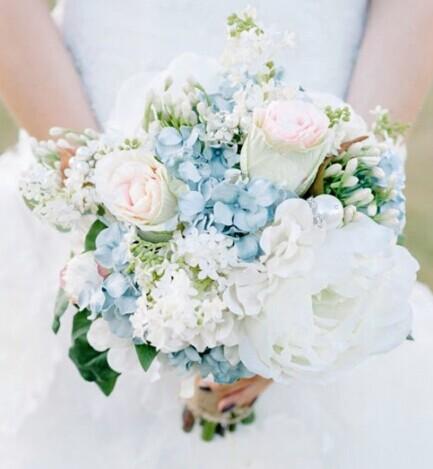 新娘手捧花 独一无二的新娘捧花 婚礼猫