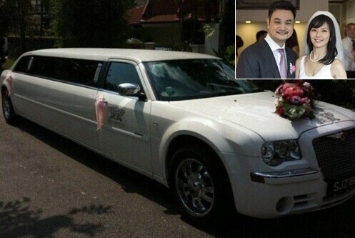 梦幻明星婚车 新人参考自己用什么婚车哦 婚礼猫