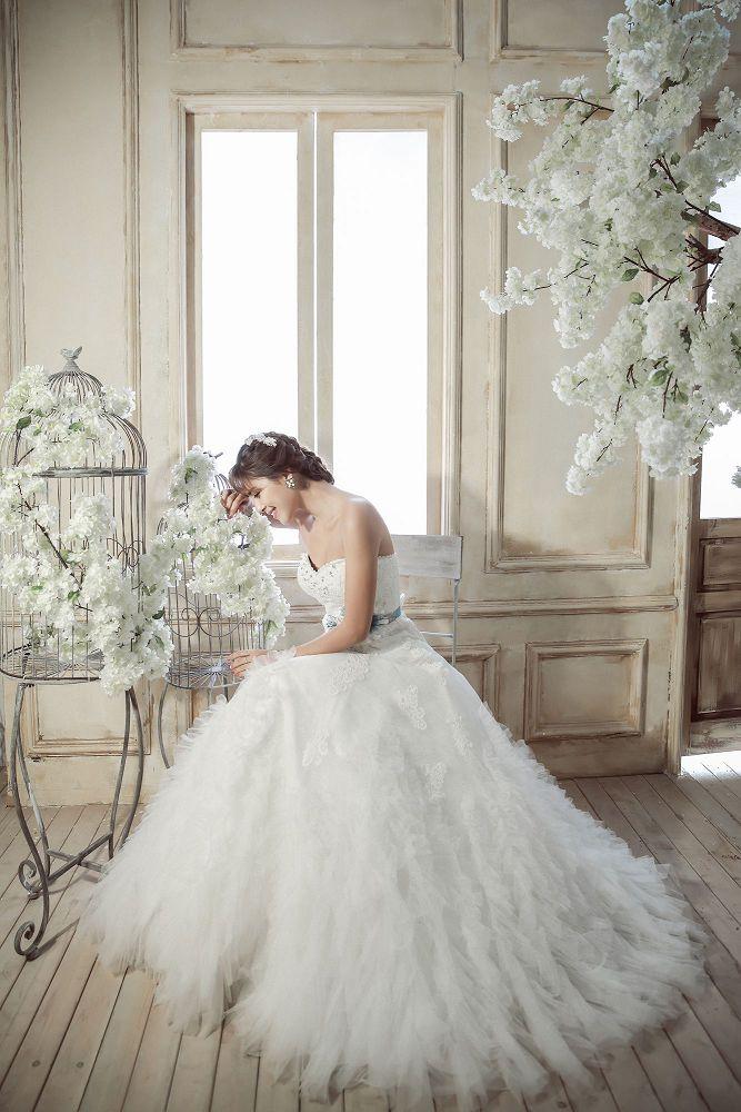 纯白婚纱的诱惑,演绎独有的浪漫