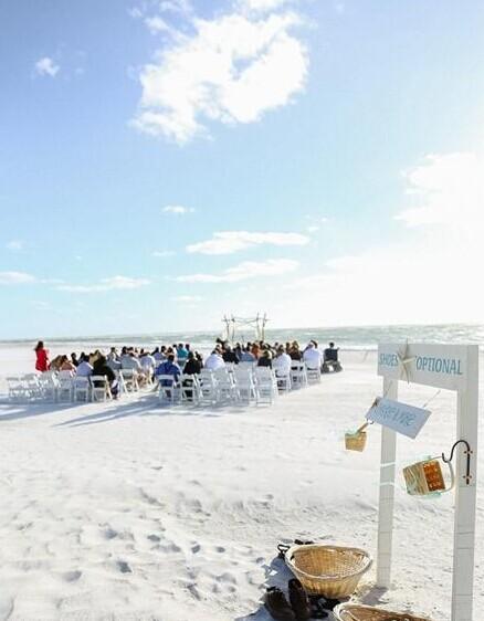 海滩婚礼 户外婚礼首选在海滩 婚礼猫