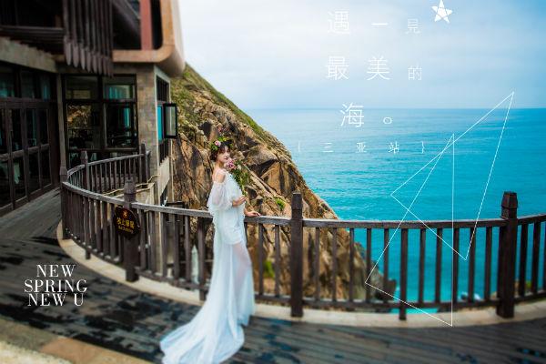 小清新风格的三亚婚纱摄影,你想要的都在这!