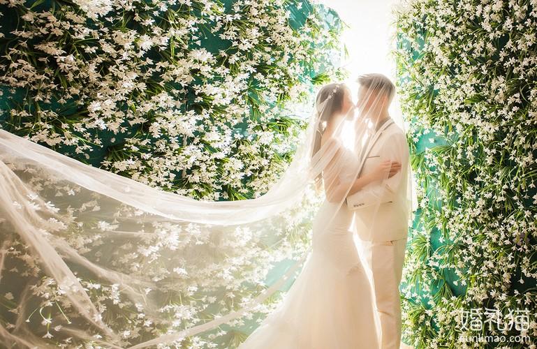 拍摄韩式风格婚纱照用到这些,真是美爆了!