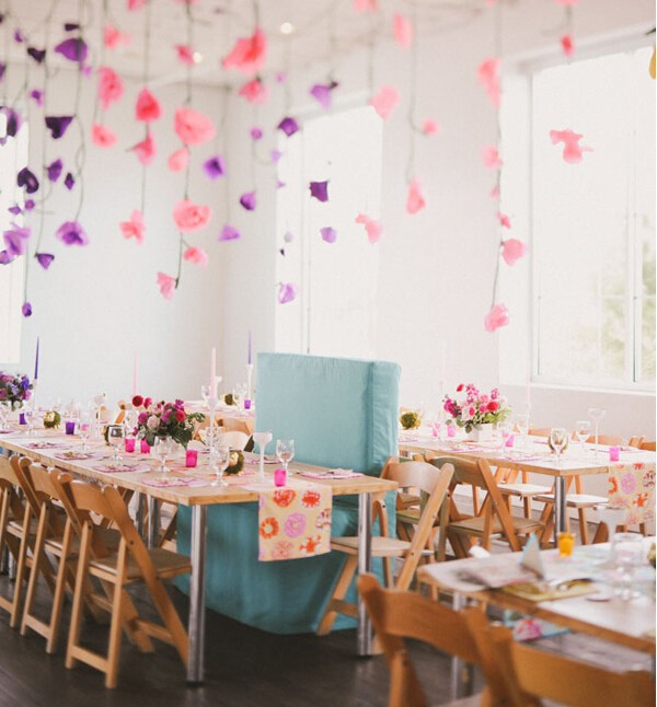 30种美丽创意婚宴会场布置图片