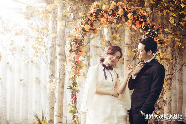 泰安婚纱摄影工作室,愉快的进行泰安婚纱摄影