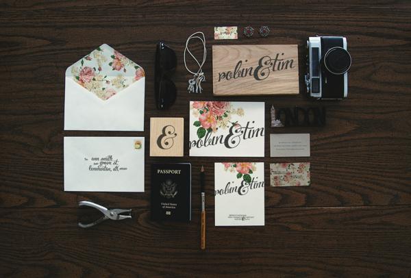 创意婚礼请柬设计欣赏