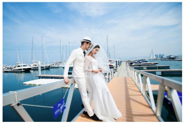 国内旅拍海景婚纱照去哪拍好?旅拍海景推荐