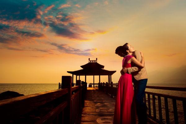 三亚旅拍最不能错过的!拍海景婚纱照神奇时刻