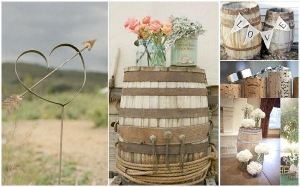 婚礼现场装饰竟然用酒桶,太会玩了吧!