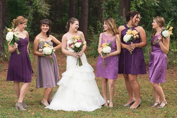 婚礼猫带你去瞧瞧几种美丽的伴娘装扮