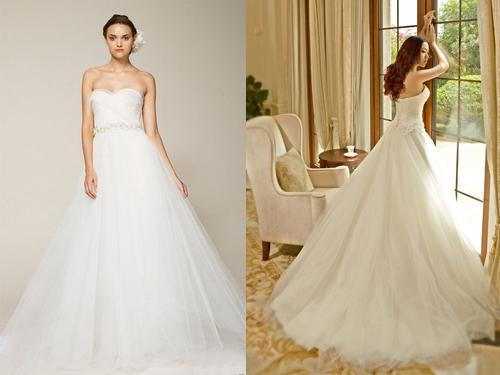 世上婚纱那么多,到底哪款适合我