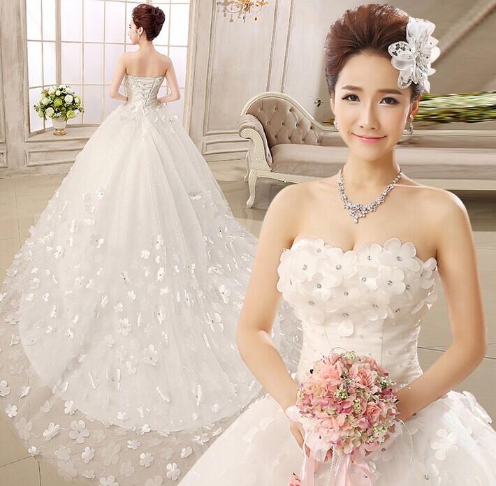 怎么拍韩式婚纱照笑出最美笑容