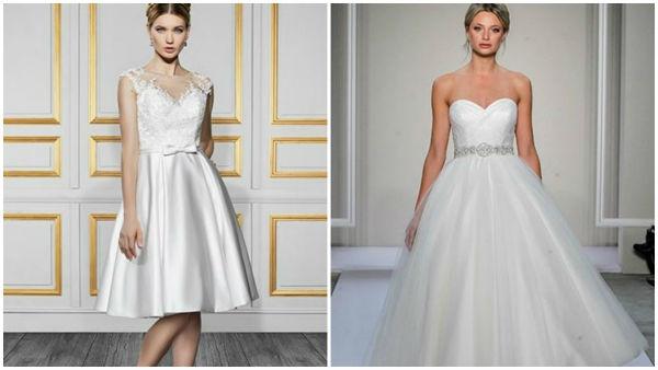 短款婚纱,俏皮与甜美新娘的最爱!