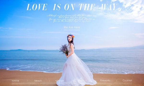 厦门旅拍海边婚纱照配色技巧!厦门旅拍攻略