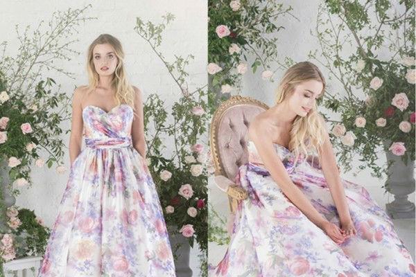 小清新式的婚纱礼服,是你想要的吗?