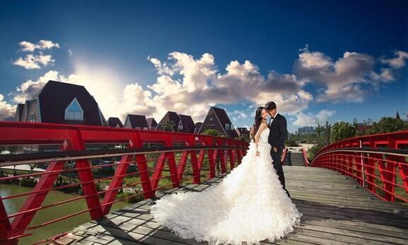 爆红网络的婚纱照 看别人拍摄婚纱照的技巧 婚礼猫