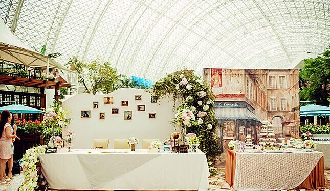 婚礼布置之西式婚礼酒店怎么布置
