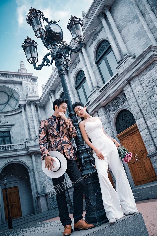 扬州拍婚纱照注意事项,主要以拍摄外景为主