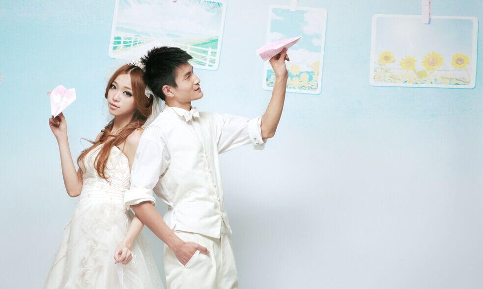 童年时光的美好 纸飞机婚礼主题布置
