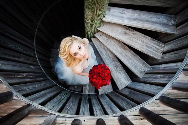 婚纱摄影,如何巧妙利用局部构图?