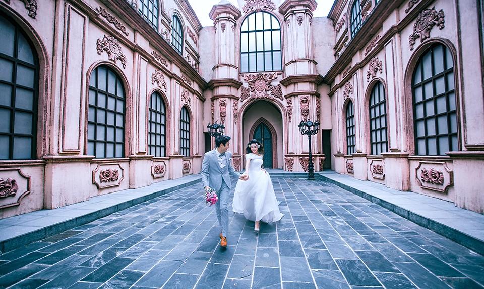 三亚婚纱摄影工作室,多变的风格让人应接不暇