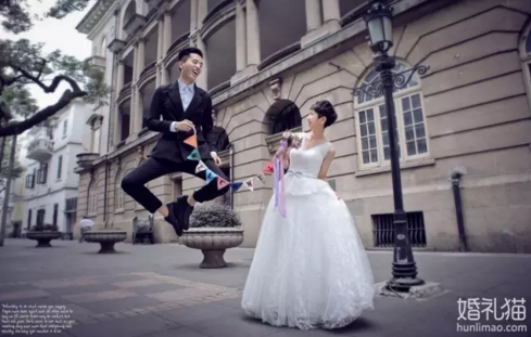 """最流行的婚纱照是""""故事""""婚纱照!"""