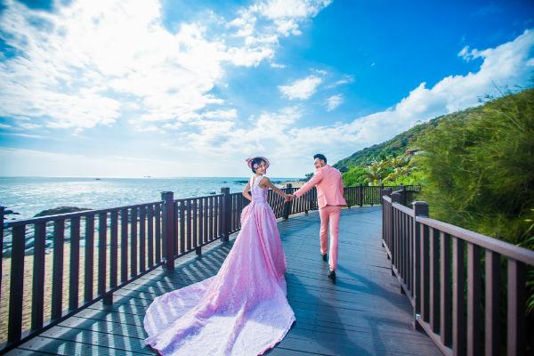 三亚婚纱摄影拍摄景点是不是越多越好?