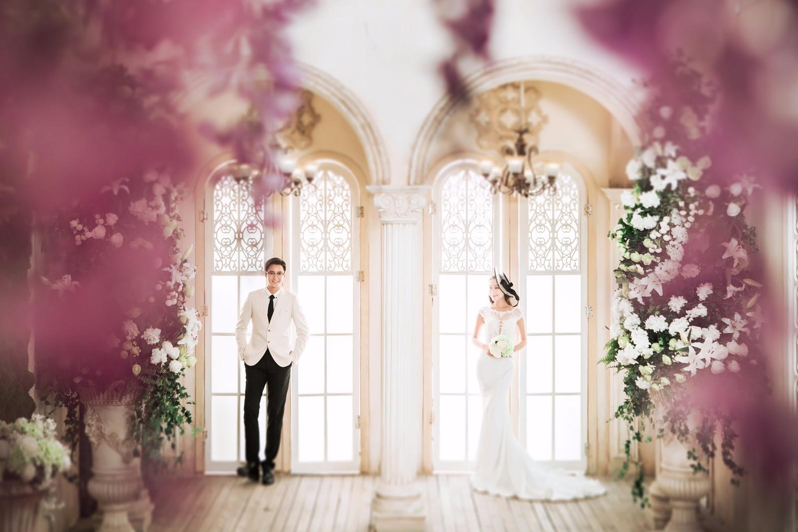 欧式婚纱照风格,给你一场美丽的婚礼