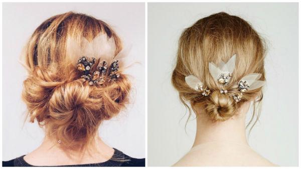 婚礼猫教你轻松DIY高髻婚礼发型