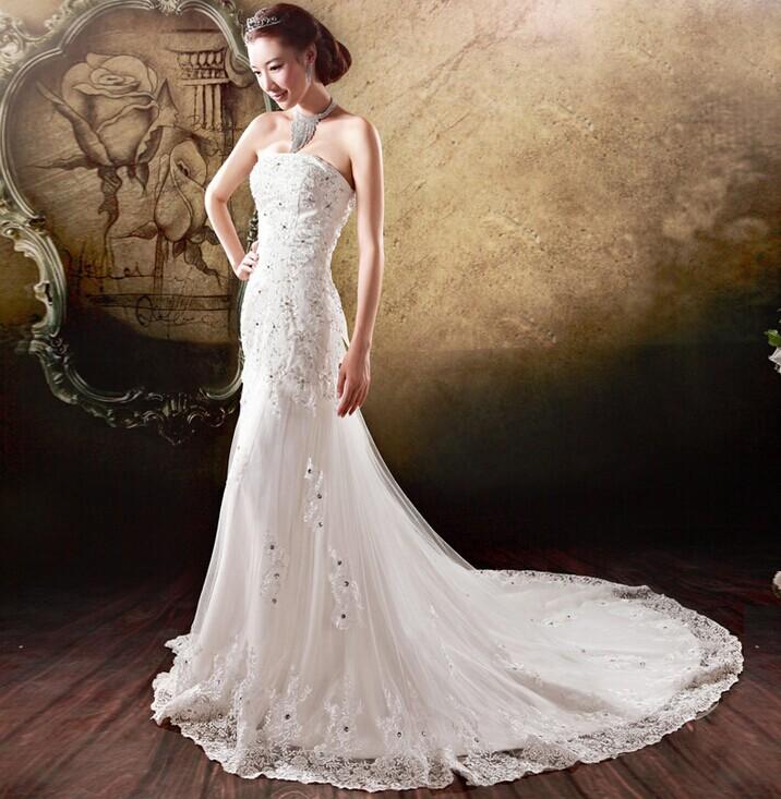 穿婚纱显瘦秘诀 新人拍婚纱显瘦技巧