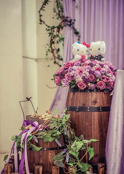 婚礼猫小编教你个性婚礼的色彩搭配技巧