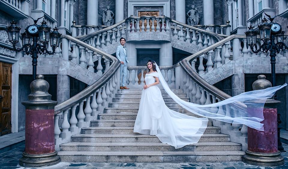 佛山特色婚纱照,小清新成为了主导