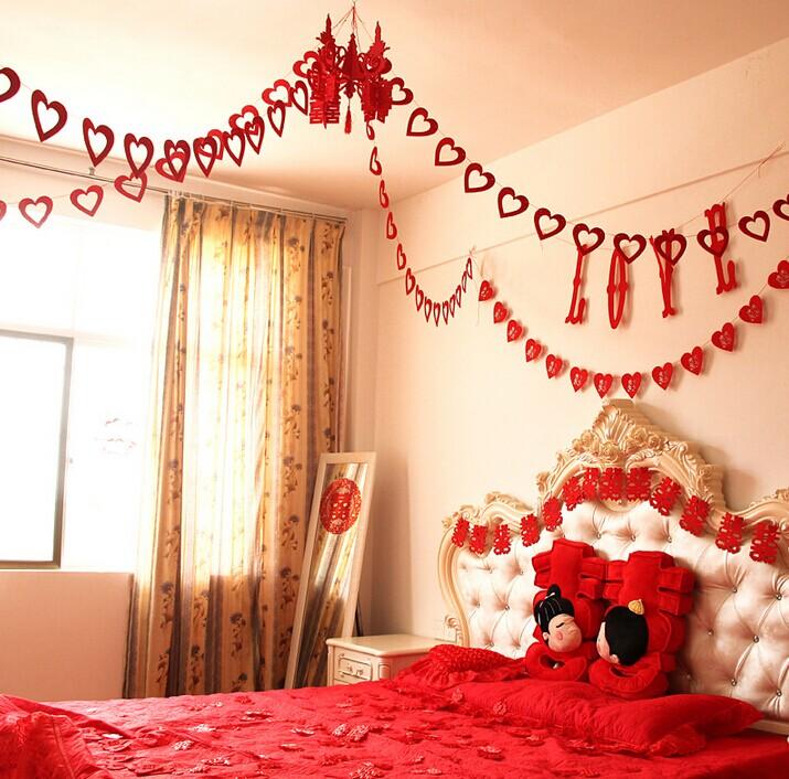 婚房布置婚床布置的注意事项