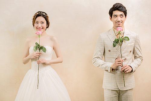 特色结婚照,拒绝无趣白衬衫结婚登记照!