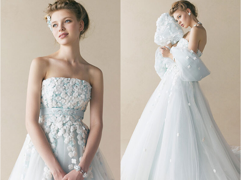 立冬已至,唯美浪漫的雪花蕾丝婚纱成新晋宠儿!